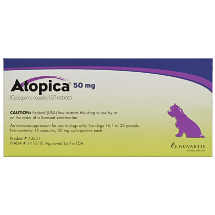 Atopica for Dogs Side Effects